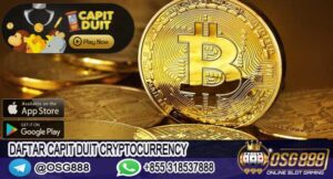 Daftar Capit Duit Cryptocurrency